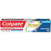 Colgate Total Whitening Toothpaste 4.8oz