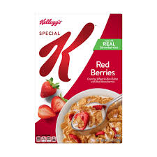 Kelloggs Special K W/Red Berries 11.7oz