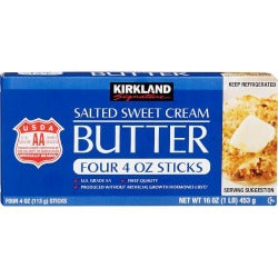 Kirkland Signature Butter 1lb - Salted