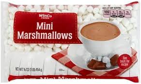Winco Mini Marshmallows 16oz