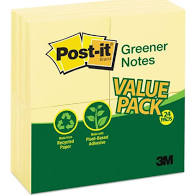 Post-It Greener Notes 3x3 24ct