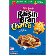 Kelloggs Raisin Bran Crunch 15.9oz
