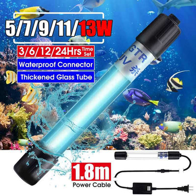 Aquarium Submersible germicidal UV lamp for water sterilization - UV Home Disinfection