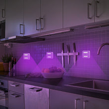 Load image into Gallery viewer, Small home UV Disinfection LED Night Lamp, battery powered - UV Home Disinfection