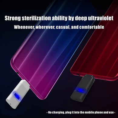 Portable Phone UV LED disinfection lamp - UV Home Disinfection