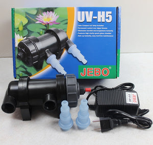 UV sterilization lamp for Aquarium or Pond with pump - UV Home Disinfection