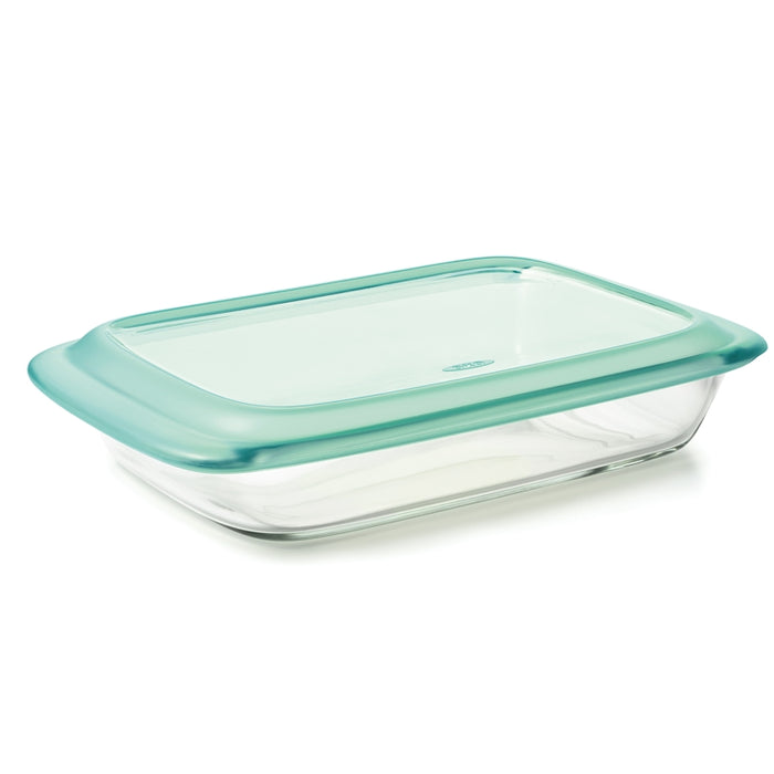 Good Grips Glass Rectangular Pan Glass with Lid