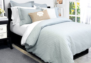Duvet Cover & Shams Set - Dover Silver