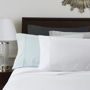 Daniadown Cotton Percale Sheet Sets - White