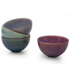 BIA Ceramic Glazed Dipping Bowls (Multi Colours)