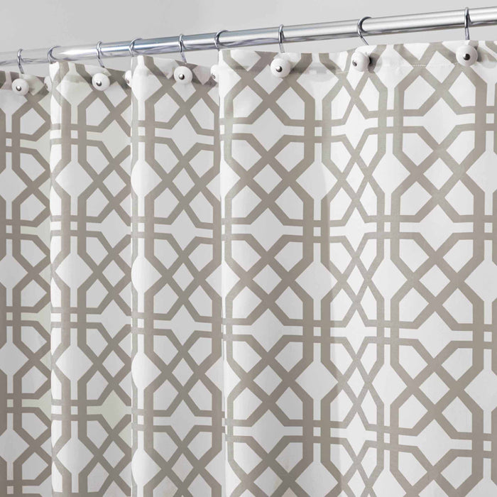 Fabric Shower Curtain - Trellis