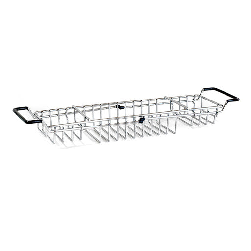 Extendable Chrome Bathtub Caddy