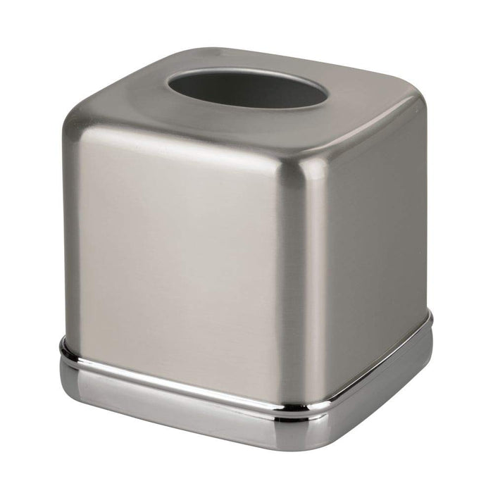 York Tissue Box Cover - Stainless Steel