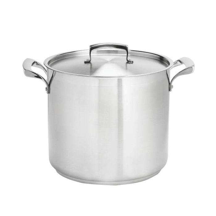 Stainless Steel Stock Pots with Lids