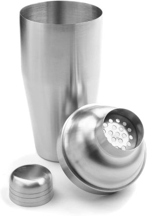 Brushed Stainless Steel Cocktail Shaker