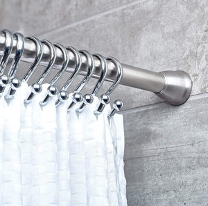 Forma Shower Curtain Tension Rods - Stainless Steel