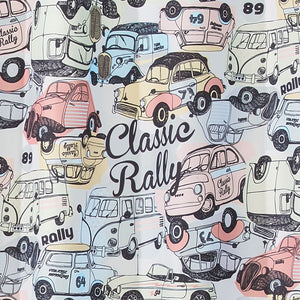 Fabric Shower Curtain - Classic Rally