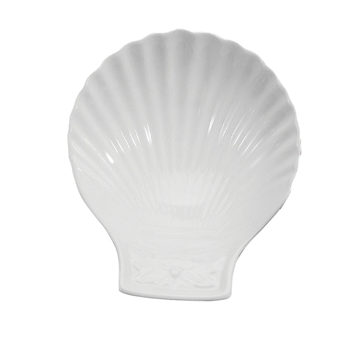 BIA Ceramic Coquille St-Jacques Dish - Whtie