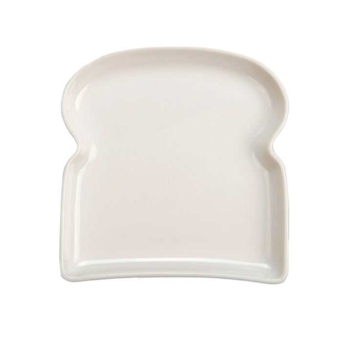 BIA Ceramic Toast Plate - White