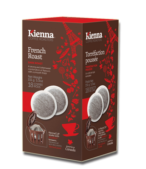 Kienna Coffee Pods, French Roast