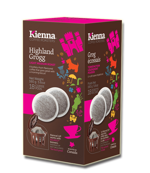 Kienna Coffee Pods, Highland Grogg