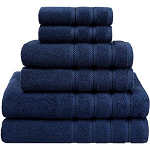 Portifino Bathroom Towels - Marine Blue