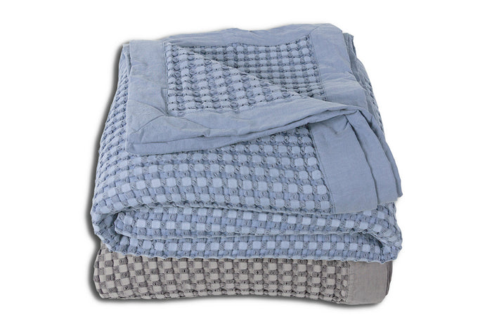 Baycrest Blanket - Blue