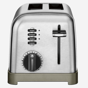 Cuisinart Classic Metal Toaster - Two Slice