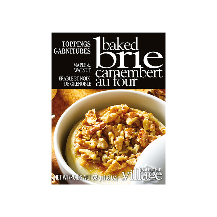 Gourmet Du Village Maple Walnut Brie Topping
