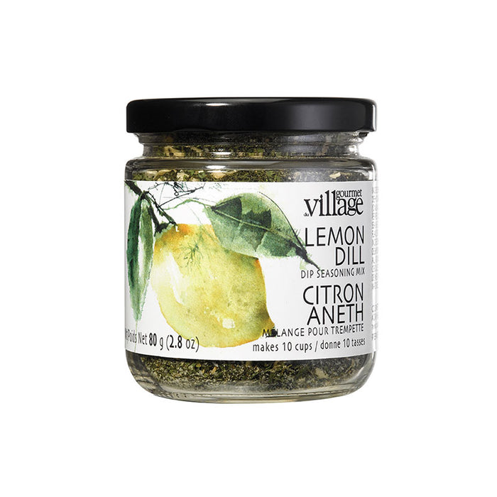 Gourmet Du Village Lemon Dill Dip Mix Jar