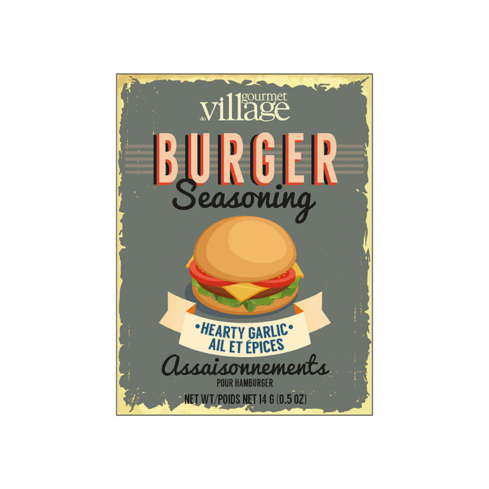 Gourmet Du Village Hearty Garlic Burger Seasoning