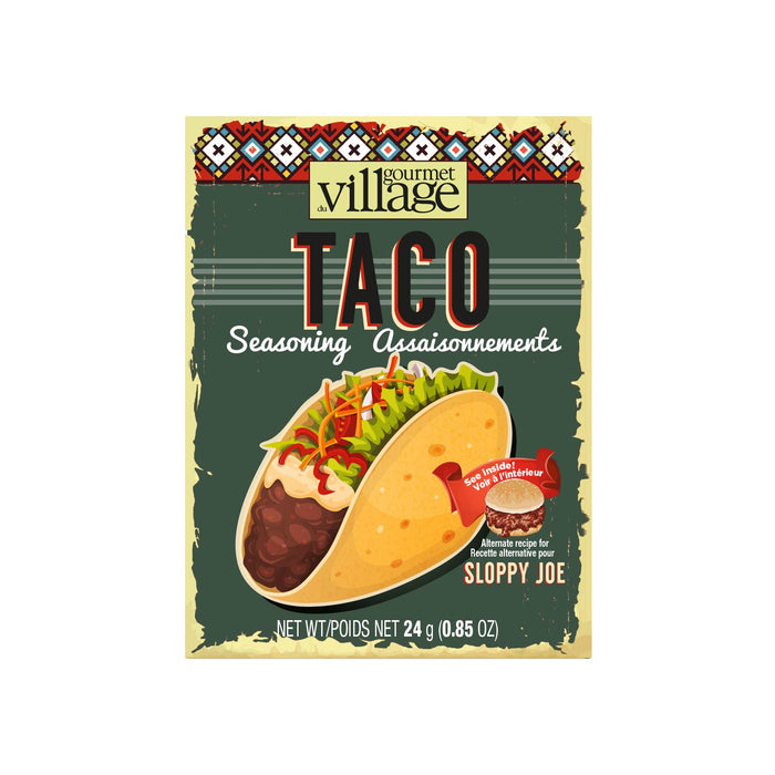 Gourmet Du Village Taco Seasoning Mix
