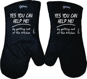 Fun Oven Mitt Set - Yes You Can Help