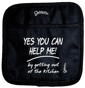Fun Pot Holder - Yes You Can Help Me