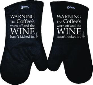 Fun Oven Mitt Set - Kicked in