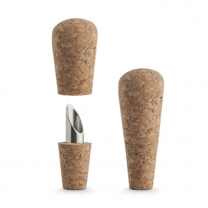 Final Touch Wine Cork Pourer & Cap