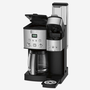 Cuisinart DuoBrew Carafe & Single Serve Coffeemaker