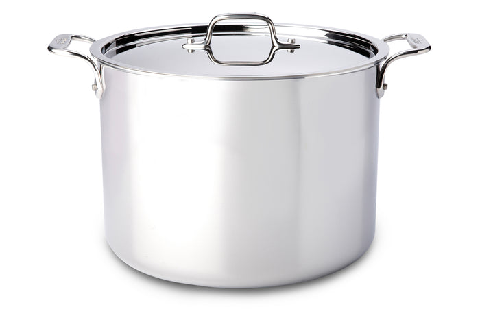 All-Clad D3 Stainless Steel Stock Pots (Multiple Sizes)