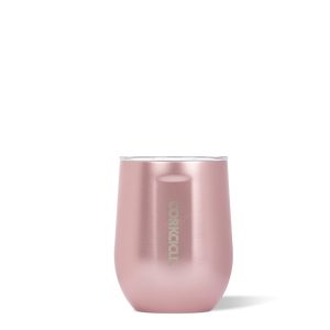 Corkcicle Stemless Wine - Rose Metallic