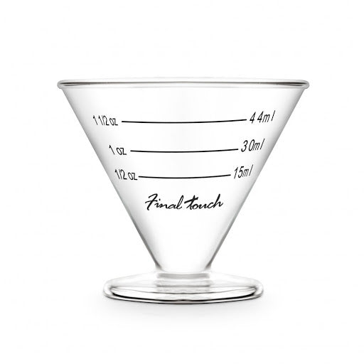 Final Touch Martini Liquor Measure