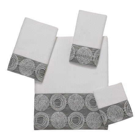 Decorative Towel Collection - Galaxy White