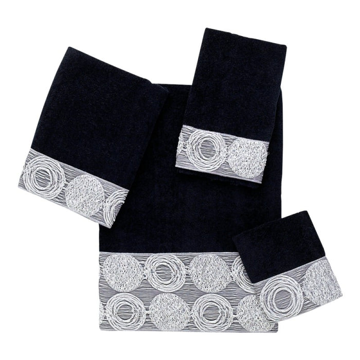 Decorative Towels Collection - Galaxy Black