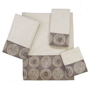 Decorative Towels Collection - Galaxy Ivory
