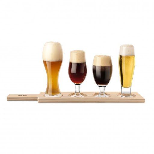 Final Touch Beer Tasting Paddle Set