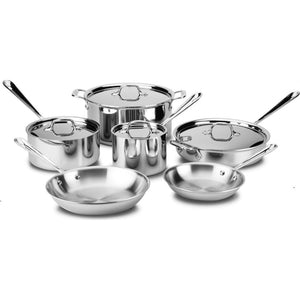 All-Clad D3 Stainless Steel 10 Piece Set