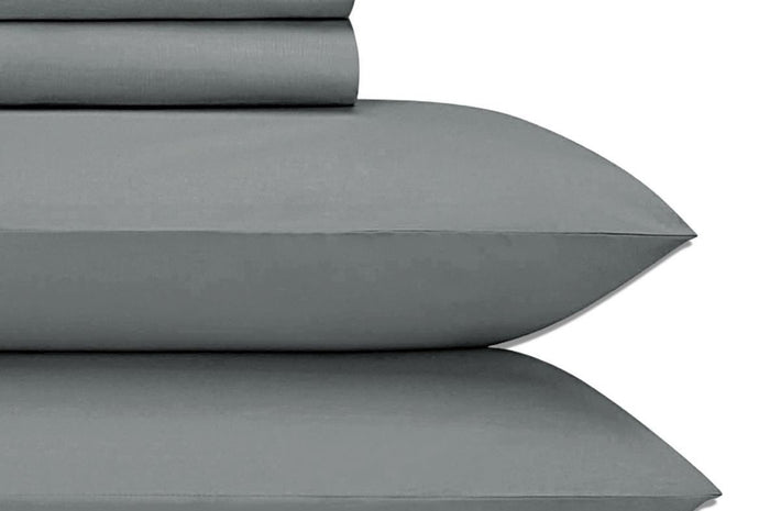 Alamode Jubilee Sheet Set - Charcoal Grey