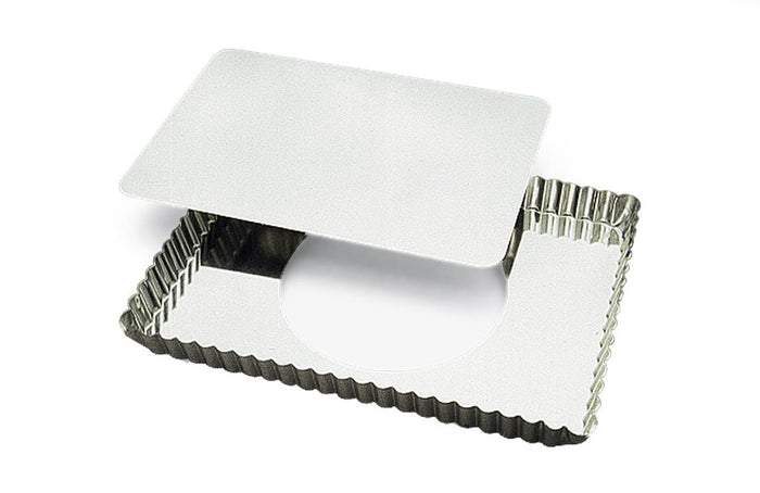 Rectangular Quiche Pan with Removable Bottom