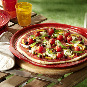 Emile Henry Ridged Pizza Stones (Various Colours)