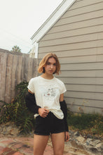 Load image into Gallery viewer, Cassée Vintage White Tee