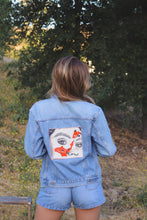 Load image into Gallery viewer, Eye Study Jean Jacket